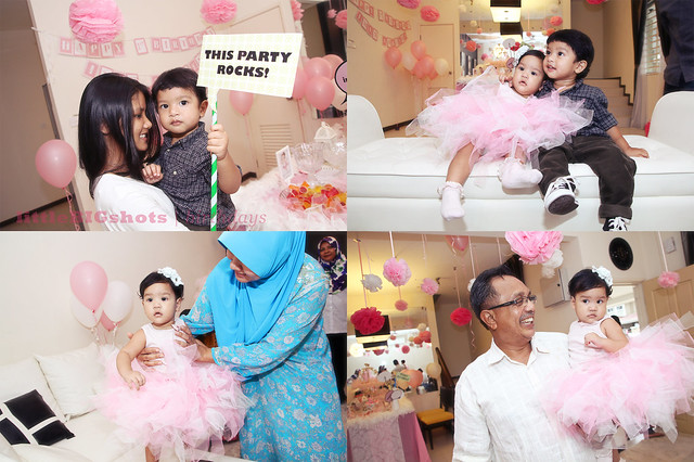 Iman Adreena's 1st Ballerina Birthday Party