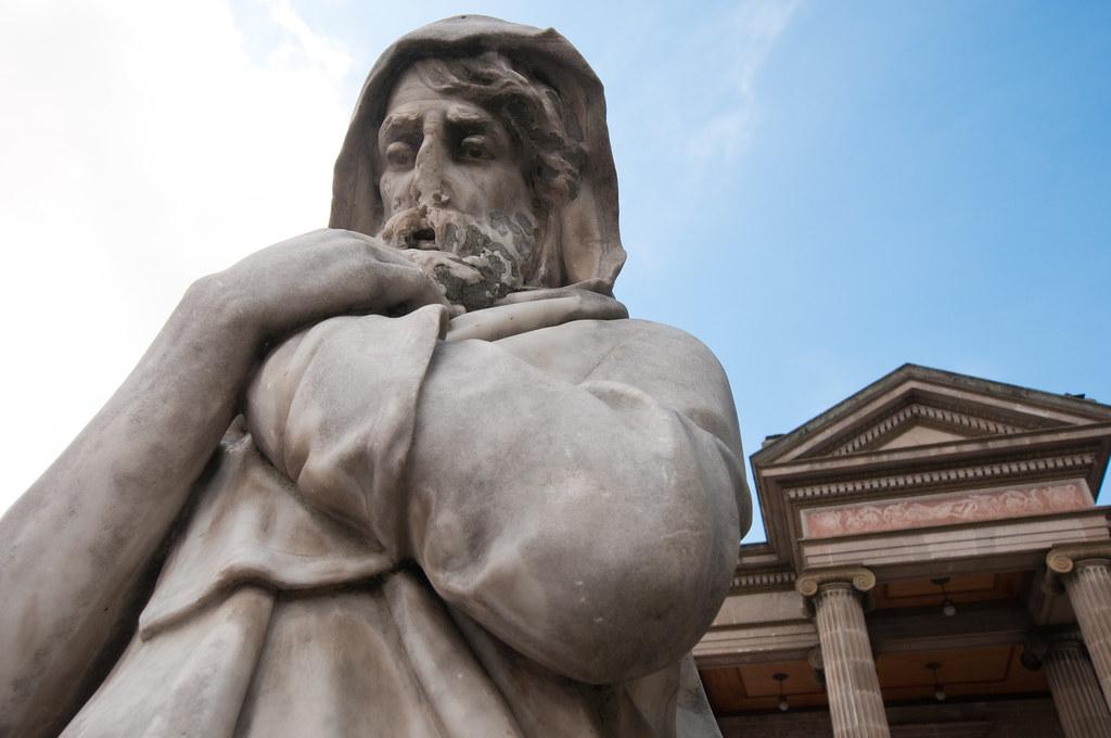 Theatre statue in Xela