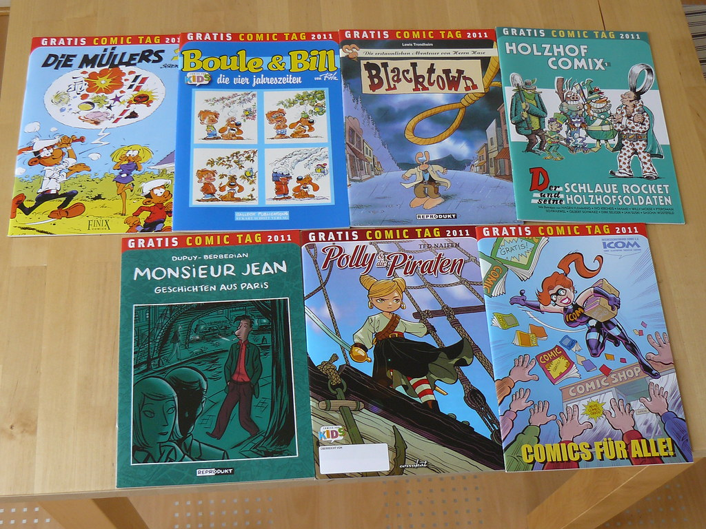 Die neuen Comics vom Holzhof Verlag