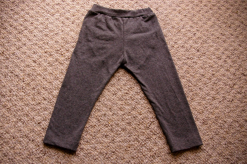 Ruffle Bum Leggings - front