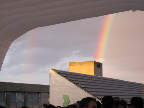 Double rainbows all the way