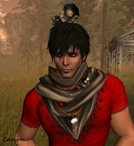 Tukinowaguma - Rage Hair, Connors - Scarf and Bob Broono Shoulder Pet