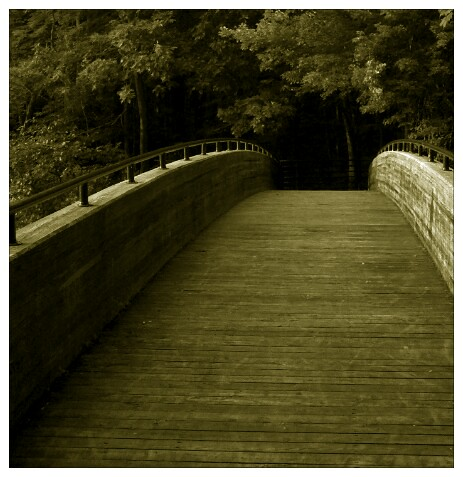 20110702 Footbridge to Mystery by opusinfinity