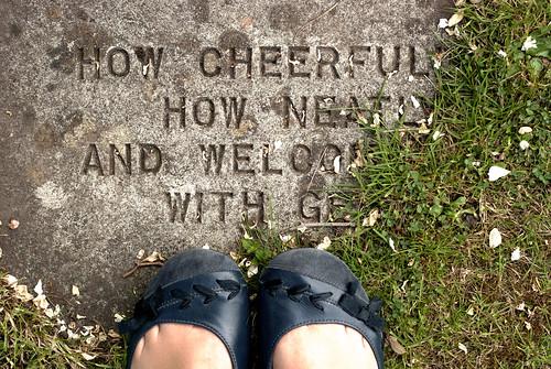 cheerful feet
