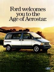 1986 Ford Aerostar (USA) p1