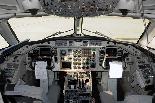 Cockpit A340A Good Fly RAC