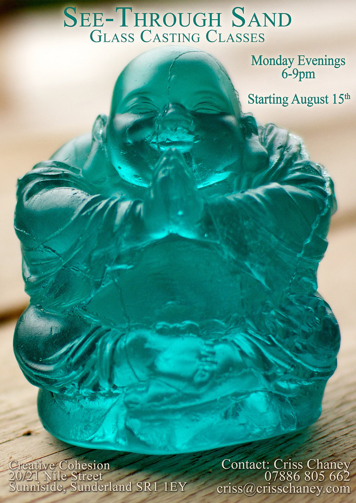 Flayer for Glass Casting Course