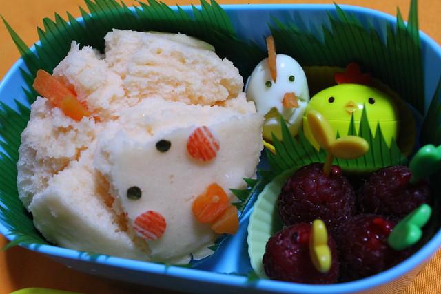 Chick Family Bento