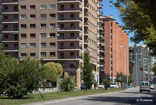 Edificios y vistas de la Avenida del Ejército