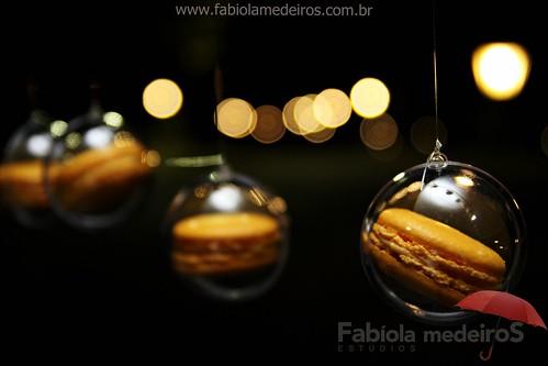 bolhas com macarrons by Três Colheres Pastisserie