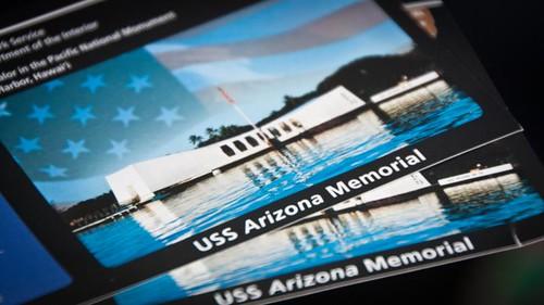 USS Arizona Memorial ticket