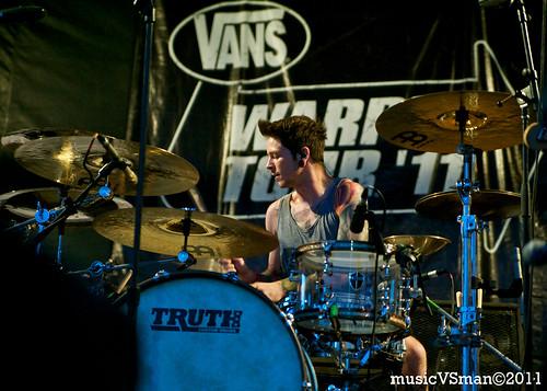 The Devil Wears Prada @ Warped Tour 2011