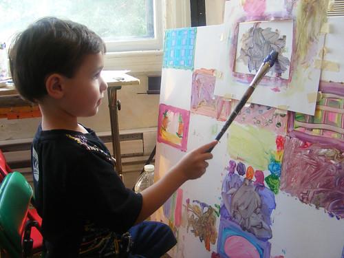Julian at work