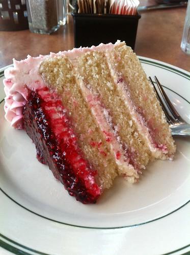 pink raspberry cake
