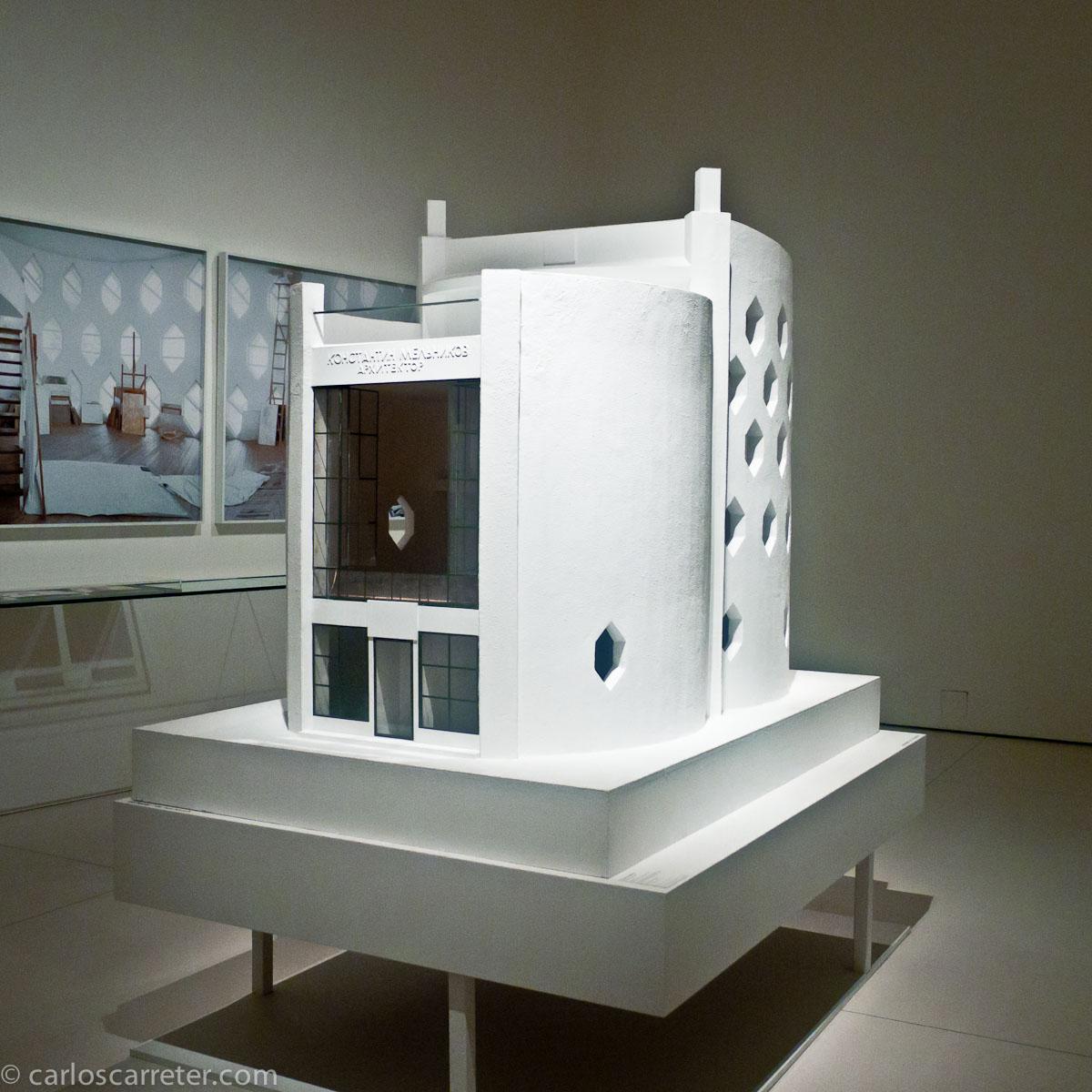 Maqueta (Arquitectura soviética en Caixaforum)