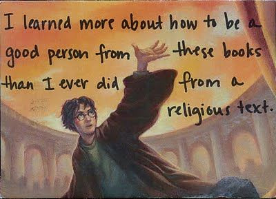 Post Secret Harry Potter Trumps Religion