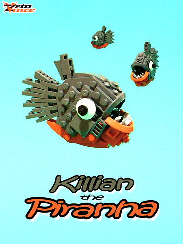 Killian the Piranha (NPU contest entry)