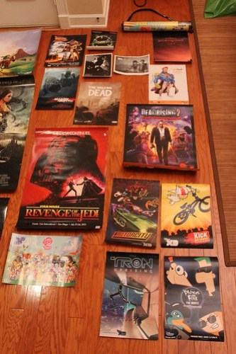 San Diego Comic-Con 2011 free posters