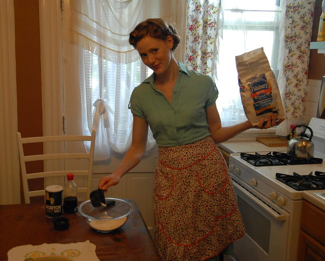 My Vintage Apron Collection