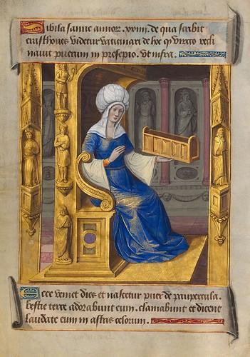 004-Sibila de Samos-Sibylla Prophetae et de Cristo Salvatore vaticinantes-1490- BSB Cod. icon. 414-Münchener DigitalisierungsZentrum