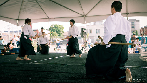 2011 Cherry Blossom Festival, Day 2: Shinkendo + Sparring