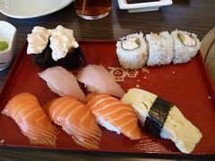 Macleod Sushi & BBQ (visit 2) - pix 01 - various sushi - visit 1 - order 2