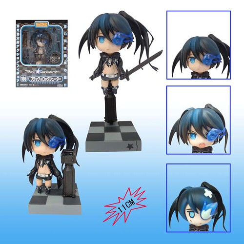 Bootleg Nendoroid Black Rock Shooter