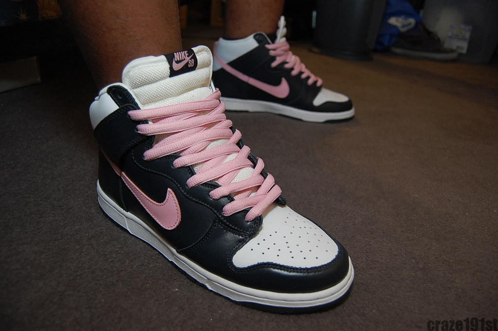Shy Pink Dunks