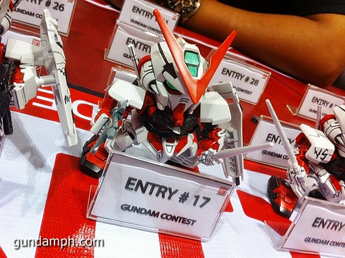 Free SD Astray Red Frame at TK Gundam Detailing Contest Caravan (19)
