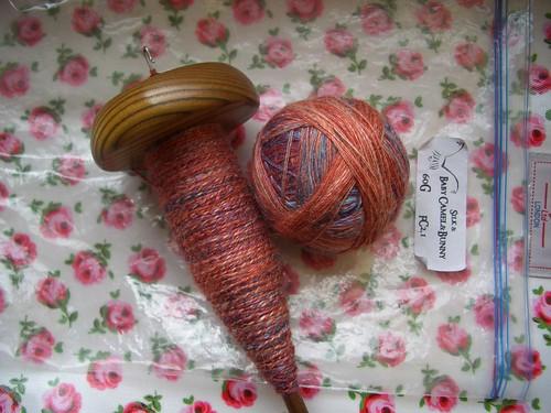Camelbunny Silk - Plying