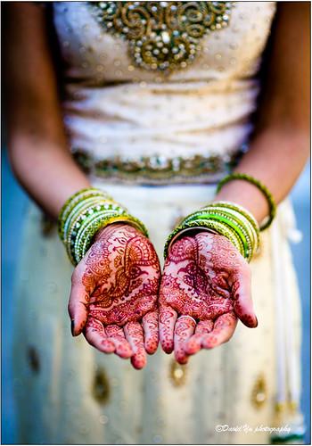 Indian Wedding Henna by davidyuweb