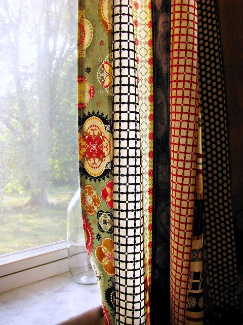 Circa 1934 Jelly Roll Curtains
