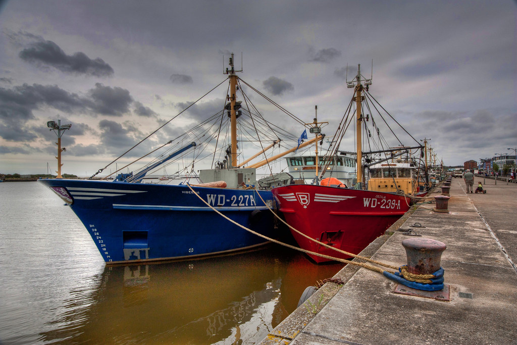 Fishing Boats In Wexford
