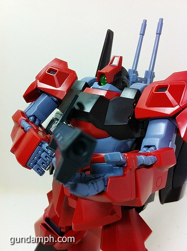 MG Rick Dias Quattro Custom RED Review OOB Build (54)