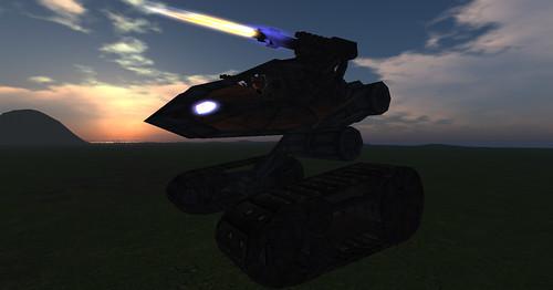 Carmageddon Tank 6, raised