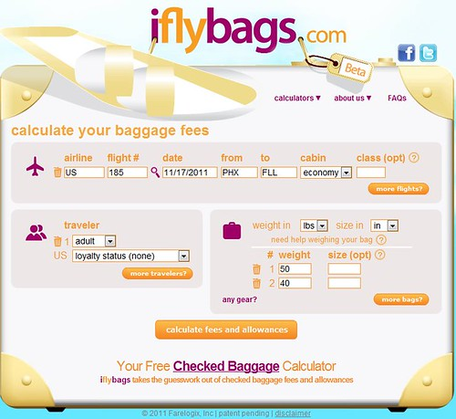 iflybags Advanced Search
