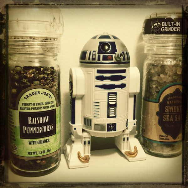 I'm pretty sure I have the coolest pepper grinder on the planet...if not the galaxy.