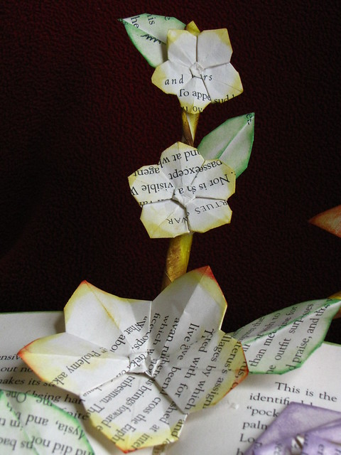 Origami Five-Petals Flower