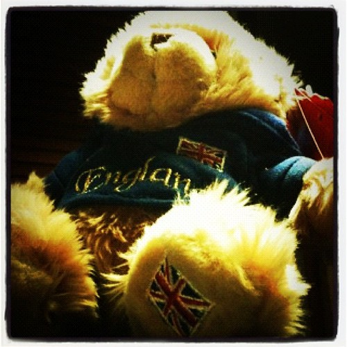 England teddy bear by rutroncal
