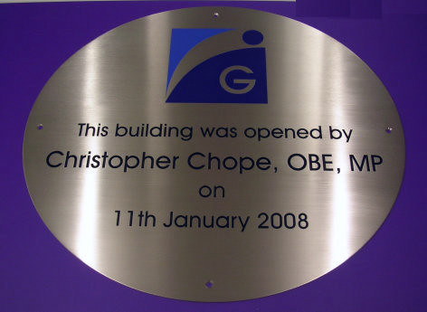 oval-plaque by Signmakersuk