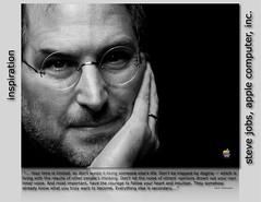 Steve Jobs inspiration poster