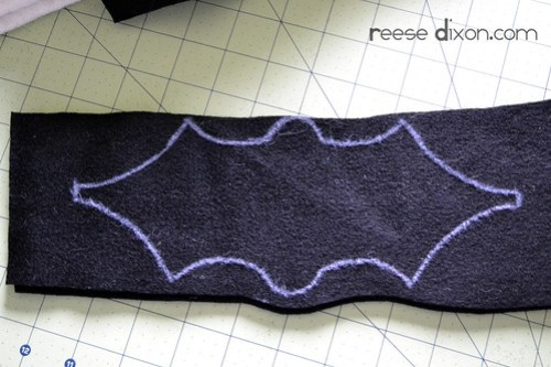 Bat Garland Tutorial Step 1
