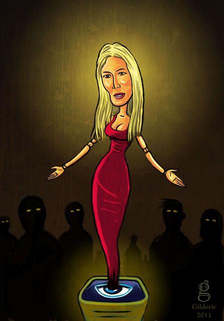 Pop Icons : Marie remporte Secret Story 5 - Illustration : Gilderic