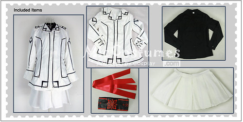 Vampire Knight Women Night Department School Uniform Cosplay Costume