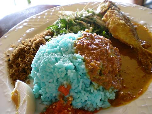 Nasi kerabu Sri Tanjung