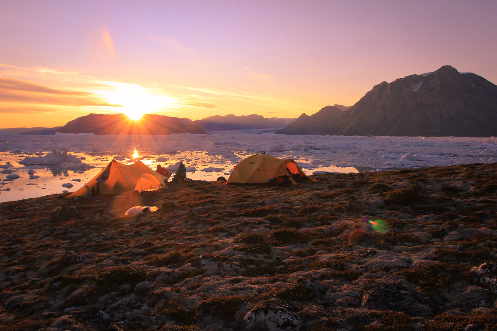 Arctic Sunset, Sermilik Fjord
