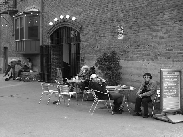 Scene in the Alley