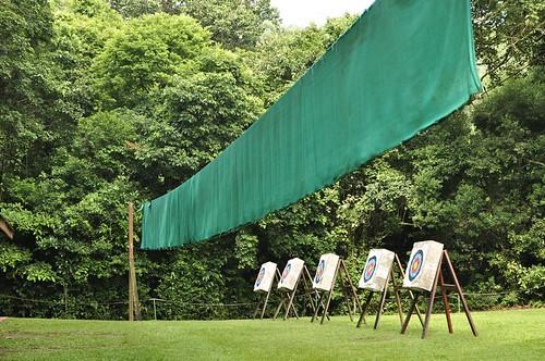 Club Med珍拉汀灣:mini club射箭課、小小高爾夫(7.2ys)