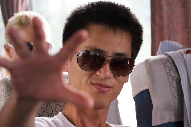 "North Korean Guide ""Crazy"" Kim"