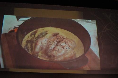 Tobie Puttock's Macro chicken cooked in milk with sage & lemon - in pot